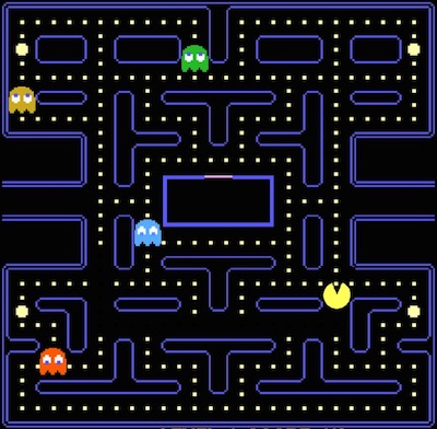 Pac-Man's point of view